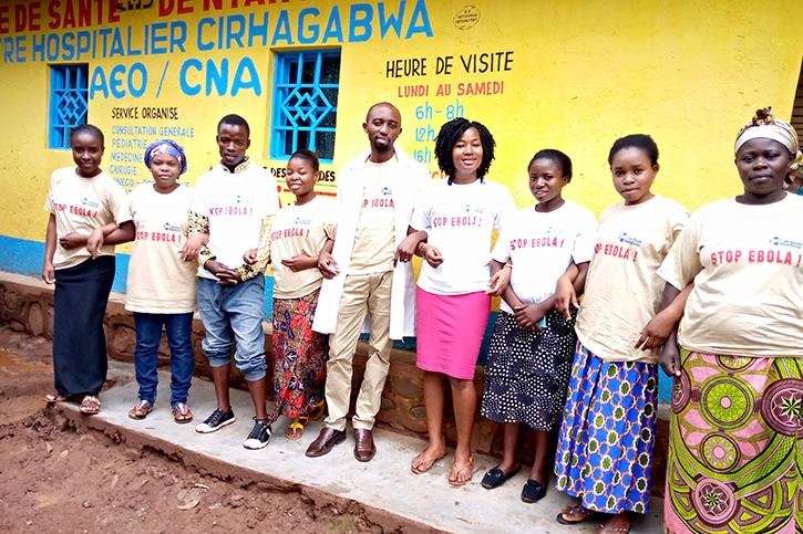 Gesundheitspersonal in der DR Kongo