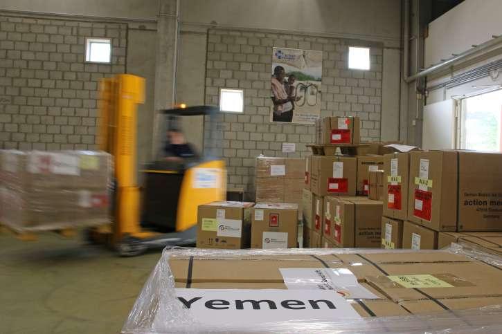 Lieferung in den Jemen