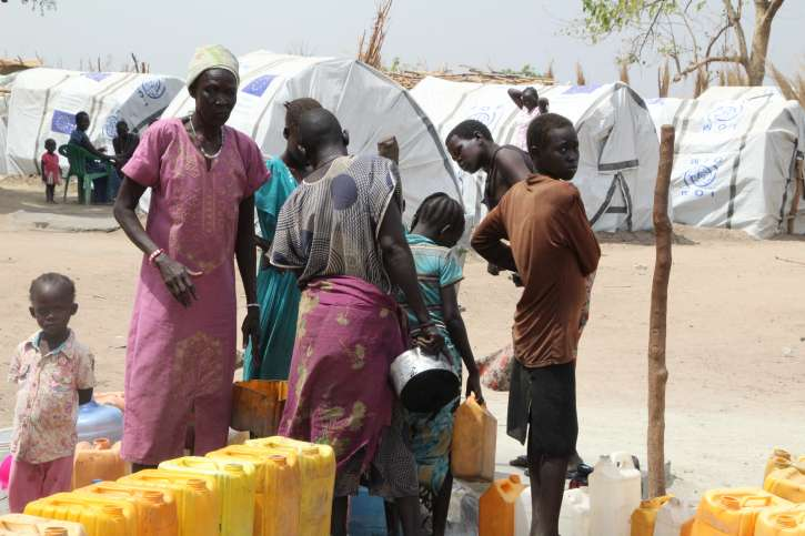 Drought and violence are the cause of famine and disease spreading in East Africa.