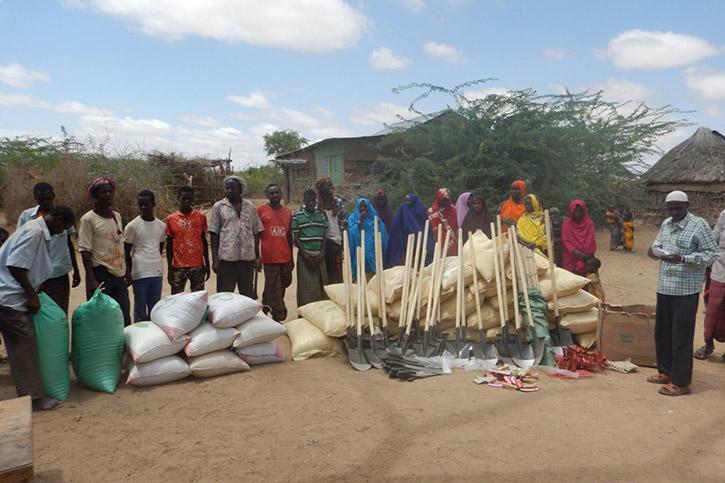 Projekt zur Ernährungssicherung in Somalia