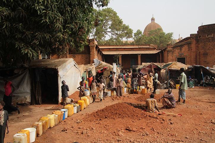 Lager für Geflüchtete im Südsudan