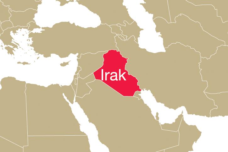 Shingal Irak Karte.Irak