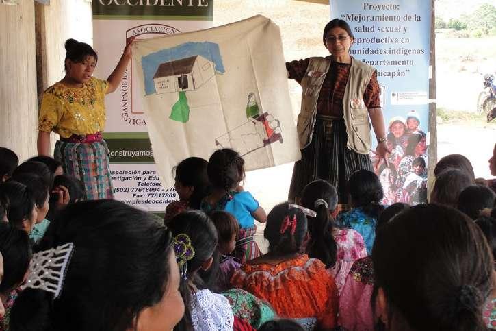 Aufklärungsunterricht in Guatemala.