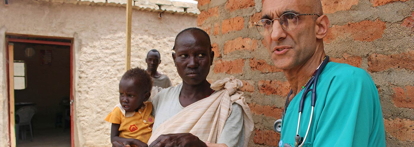 Dr. Catena kämpft im Sudan um das Leben seiner Patienten.